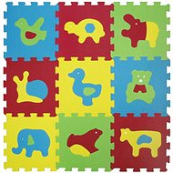 Ludi 84x84 cm Tiere Basic - Schaum-Puzzle