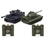 Jamara Panzer Tiger Battle Set 1:28 2,4 GHz - RC-Modellauto