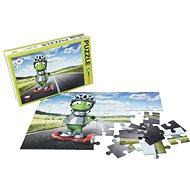 Alza Puzzle 40 Teile - Alza Alien auf Gyroboard - Puzzle