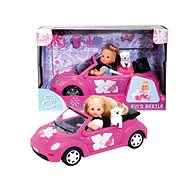 Simba Puppe Evi mit New Beetle Car - Puppe