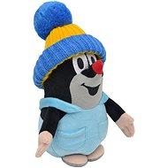 Maulwurf mit Hose und blauer Mütze 20cm - Stoffspielzeug