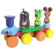 Lernspielzeug Detoa Der kleine Zug - Didaktisches Spielzeug