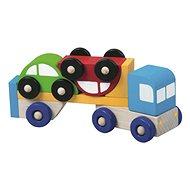 Detoa Spielset Autotransporter mit Autos - Didaktisches Spielzeug