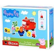 PlayBig BLOXX Peppa Pig Feuerwehrauto mit Zubehör - Bausatz