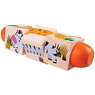Bigjigs Toys beweglicher Zylinder Leben im Dschungel - Motorisches Spielzeug