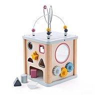 Holzspielzeug Bigjigs Baby Motorisierter aktiver Würfel - Dřevěná hračka