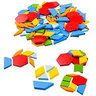 Bigjigs Toys farbiges Holz-Mosaik - Holzspielzeug