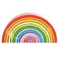 Bigjigs Baby Holz-Regenbogen zusammensetzbar groß - Holzbausatz
