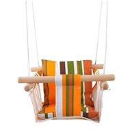 Textilschaukel für Kinder 100% Baumwolle Streifen - Schaukel