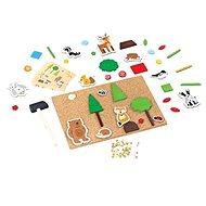 Bigjigs Toys - Kreatives Hammerspiel - Das Leben im Wald - Motorisches Spielzeug