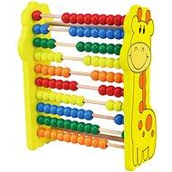 Holzspielzeug Abakus Giraffe Holz - Dřevěná hračka