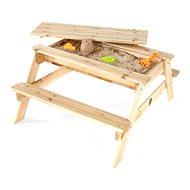 PLUM Picknicktisch aus Holz 2in1 - Sandkasten