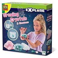 Kreativset SES Wachsende Kristalle und Edelsteine