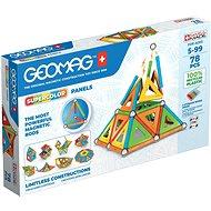 Bausatz Geomag - Supercolor recycelt 78 Stück