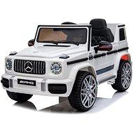 Elektroauto Mercedes G63 AMG - weiß - Elektroauto für Kinder