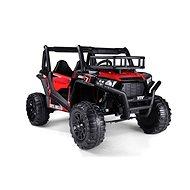 Elektroauto UTV 24V - rot - Doppelsitzer - 2 x 200 Watt Motor - EVA-Räder - Elektroauto für Kinder