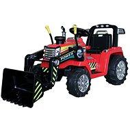 MASTER Traktor mit Schaufel - rot - Hinterradantrieb - Elektroauto für Kinder
