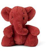 Ebu Elefant Plüschtier - rot - 29 cm - Stoffspielzeug