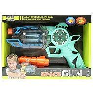 Pistole mit Batterien - Licht - Ton - Spielzeugwaffe
