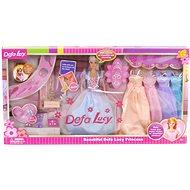 Puppe 29 cm mit Kleidung und Accessoires - Puppe