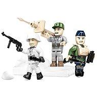 Cobi 3 Figuren deutscher Eliteeinheiten mit Zubehör - Bausatz