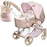 Decuevas 81643 faltbarer Kinderwagen für Puppen 3 in 1 mit tragbarer Tasche Didi 2021 - 75 cm - Puppenwagen