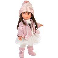 Llorens 53528 Sara - realistisch mit weichem Stoffkörper - 35 cm - Puppe