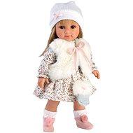 Llorens 53536 Elena - realistisch mit weichem Stoffkörper - 35 cm - Puppe