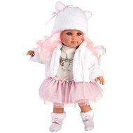 Llorens 53537 Elena - realistisch mit weichem Stoffkörper - 35 cm - Puppe