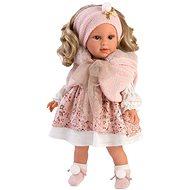 Llorens 54032 Lucia - realistisch mit weichem Stoffkörper - 40 cm - Puppe