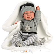 Llorens 84325 New Born Junge - 43 cm - Puppe