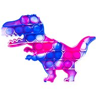 Pop it - Dinosaurier lila und blau - Pop it