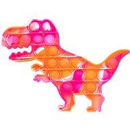 Pop it - Dinosaurier orange und rosa - Pop it