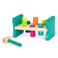 B-Toys Hölzerne Pfund & Spielwirbel - Klopfspielzeug