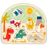 B-Toys Holzpuzzle mit Dinosauriergriffen - Puzzle