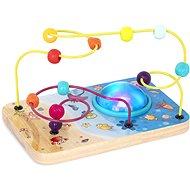 B-Toys Motorikschleife mit Perlen und Lichtern mit Musik - Spielzeug für die Kleinsten