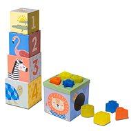 Taf Toys Savanna - Set aus Würfeln und Formen - Bild-Würfel
