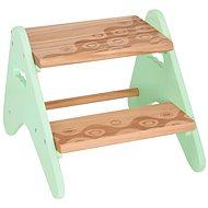 B-Toys Steps, Wooden, Mint - Stepladder