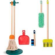 B-Toys Clean 'n' Play Reinigungsset aus Holz - Thematisches Spielzeugset