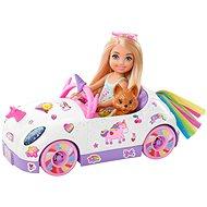 Mattel Barbie Chelsea - Cabrio mit Aufklebern - Puppe