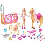 Mattel Barbie - Entzückendes Pferd mit Zubehör - Puppe