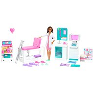 Mattel Barbie - 1. Hilfe Klinik mit Ärztin - Spielset - Puppe