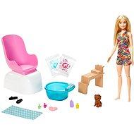 Barbie Maniküre / Pediküre-Spielset - Puppe