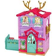 Enchantimals Puppe Danessa Deer mit Haus - Spielset - Puppe