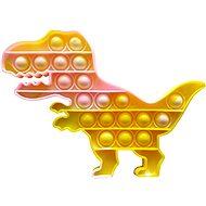Pop it - Dinosaurier - gelb marmoriert - Pop it