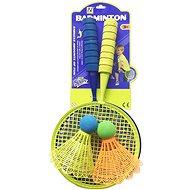 Racquet set with 2 large baskets; 52x28x5cm - Badminton Set