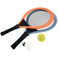Set of rackets with ball and basket 50x27,5x6cm - Badminton Set