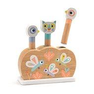 Holzspielzeug Djeco Holzspielzeug Pop-up Regenbogentiere