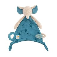 Cuddle Scarf with Teether Elephant - Baby Teether
