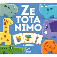 Zootier Puzzle-Würfel - Puzzle